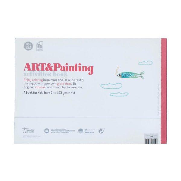 Activities Book Art & Painting – Rückseite