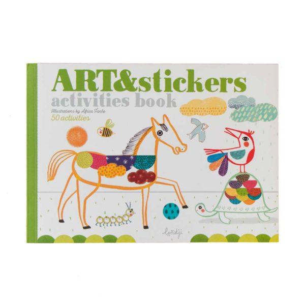 Activities Book Art & Stickers