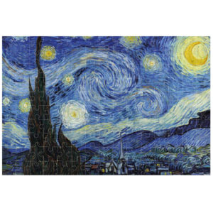 Micropuzzle van Gogh Starry Night – 150 Teile