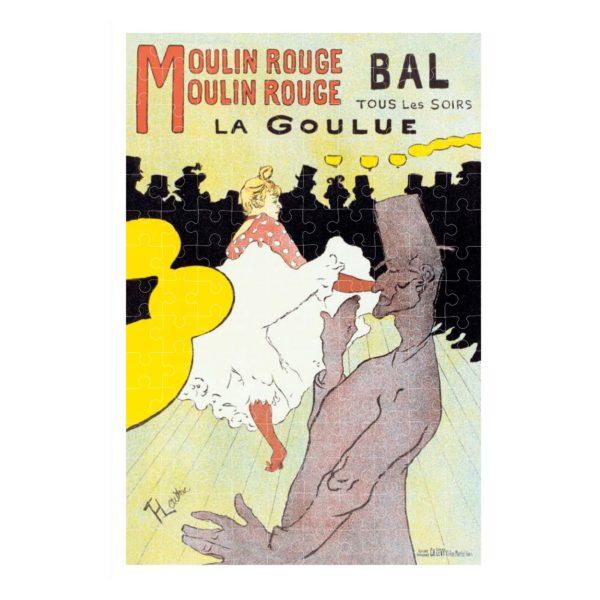 Micropuzzle Toulouse-Lautrec La Goulue – 150 Teile