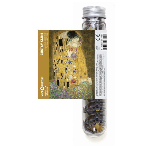 Micropuzzle Klimt The Kiss von londji