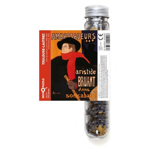 Micropuzzle Toulouse-Lautrec Ambassadeurs – 150 Teile