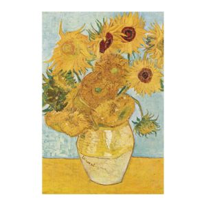 Micropuzzle van Gogh Sunflowers – 150 Teile