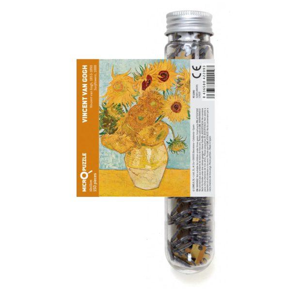 Micropuzzle van Gogh Sunflowers von londji