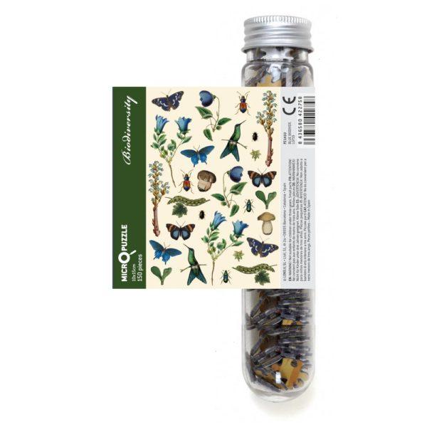 Micropuzzle Blue Biodiversity – 150 Teile