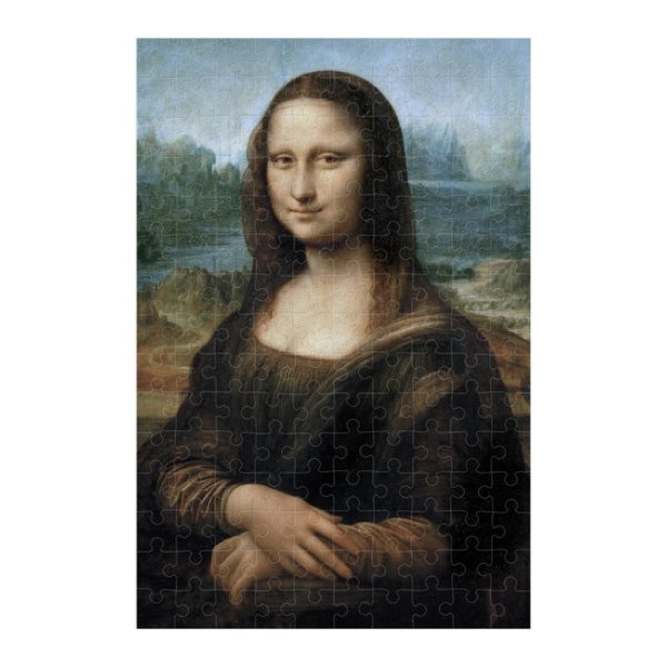 Micropuzzle da Vinci Mona Lisa – 150 Teile