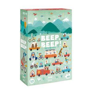 Puzzle Beep Beep! – 48 Teile