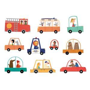 Puzzle Beep Beep! – 48 Teile – Fahrzeuge