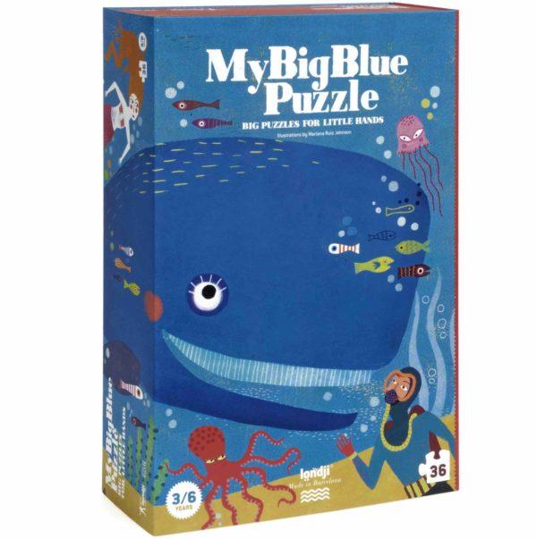 Puzzle My Big Blue – 36 Teile 1