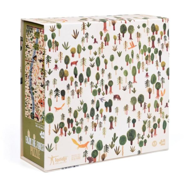 Puzzle Enjoy the Forest – 100 Teile – Londji