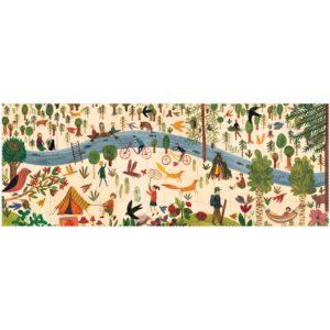Puzzle Enjoy the Forest – 100 Teile – gepuzzelt