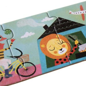 Puzzle My Bike – 54 Teile – Detail