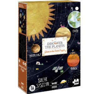 Leuchtpuzzle Discover the Planets - 200 Teile