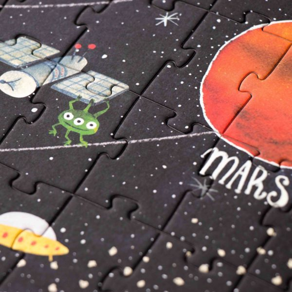 Leuchtpuzzle Discover the Planets - 200 Teile 2