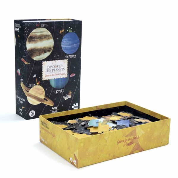 Leuchtpuzzle Discover the Planets - 200 Teile 3