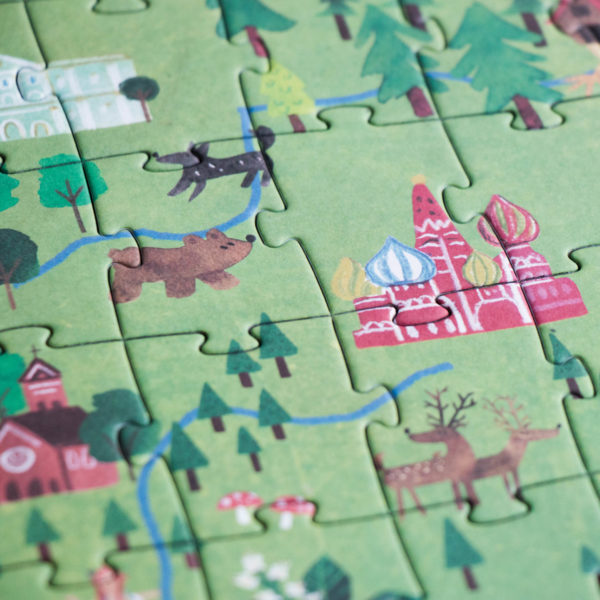 Puzzle Discover Europe – 200 Teile 4
