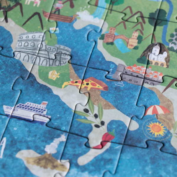 Puzzle Discover Europe – 200 Teile 3