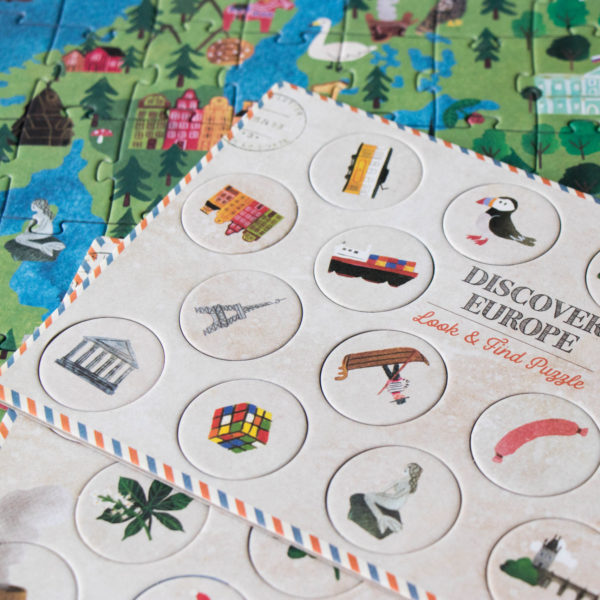 Puzzle Discover Europe – 200 Teile 2