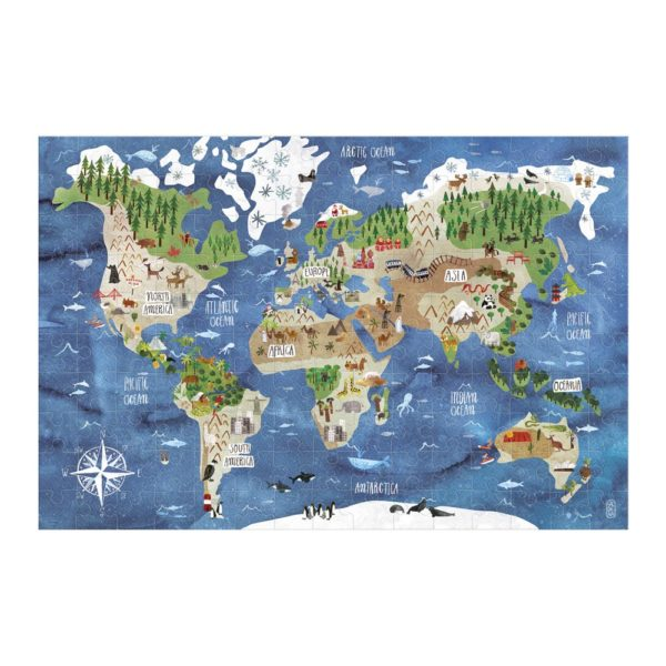 Micropuzzle Discover the World – 150 Teile