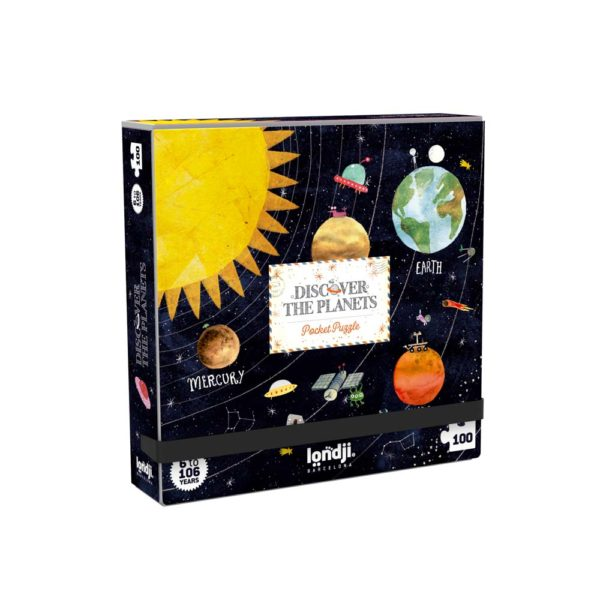 Pocketpuzzle Discover the Planets – 100 Teile