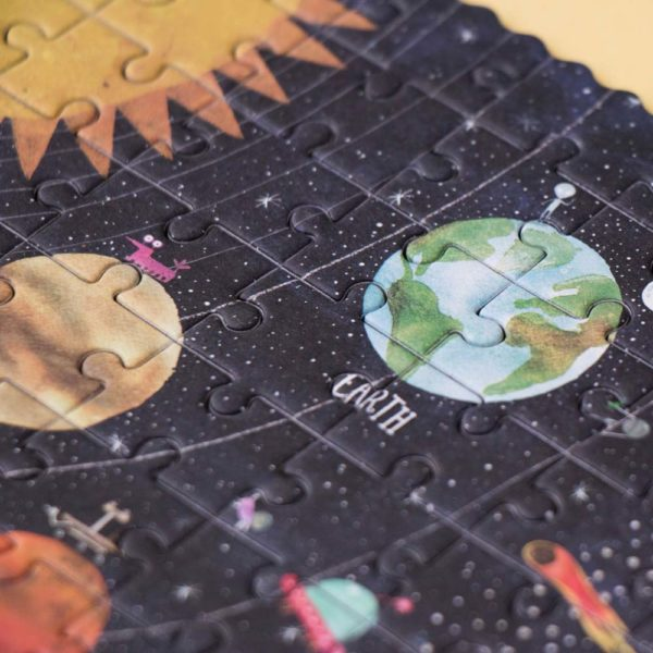 Pocketpuzzle Discover the Planets – 100 Teile 2