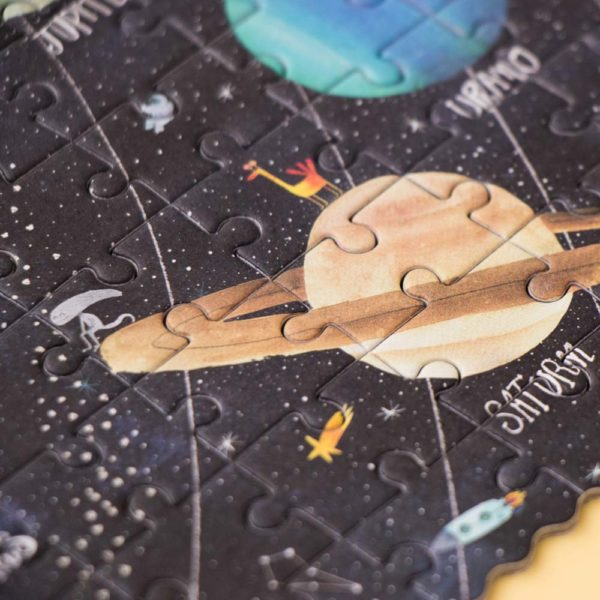 Pocketpuzzle Discover the Planets – 100 Teile 3