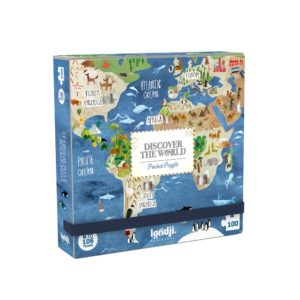Pocketpuzzle Discover the World – 100 Teile