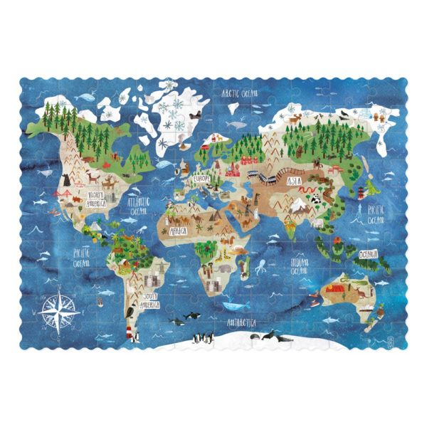 Pocketpuzzle Discover the World – gepuzzelt