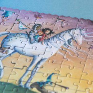 Pocketpuzzle My Unicorn – 100 Teile 3