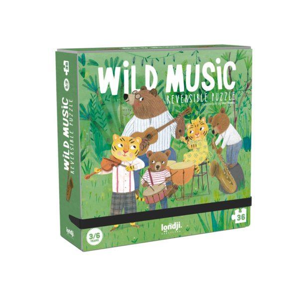 Wendepuzzle Wild Music – 36 Teile