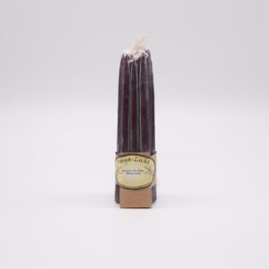 Kerzen aus Myrtenwachs Purpur - 10er Set