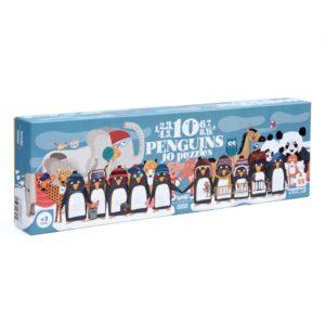 Puzzle 10 Penguins – 55 Teile