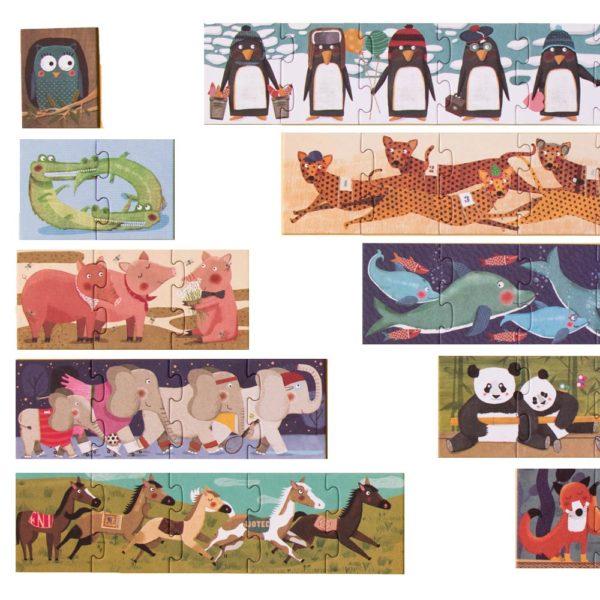 Puzzle 10 Penguins – 55 Teile 1
