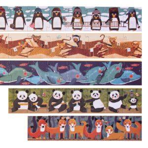 Puzzle 10 Penguins – 55 Teile 4
