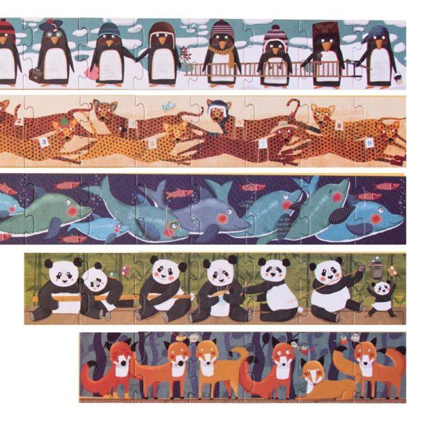 Puzzle 10 Penguins – 55 Teile 2