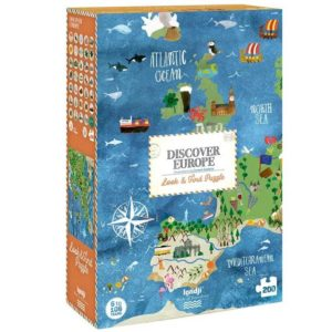 Discover Europe Puzzle – 200 Teile