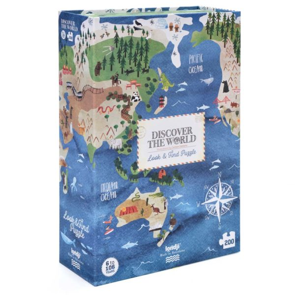 Puzzle Discover the World – 200 Teile