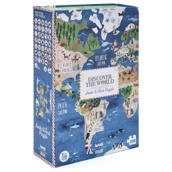 Puzzle Discover the World – 200 Teile 1