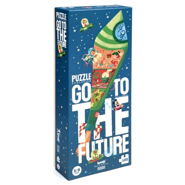 Puzzle Go to the Future – 100 Teile