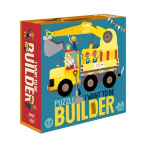 Puzzle I want to be Builder - 36 Teile