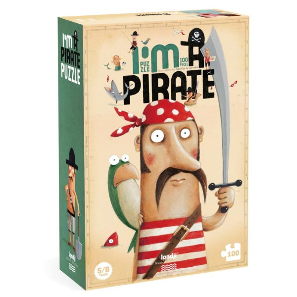 Puzzle I'm a Pirate – 100 Teile