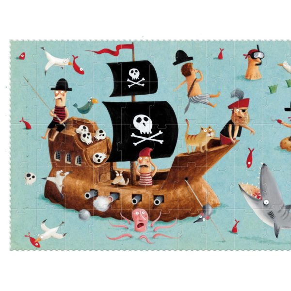 Puzzle I'm a Pirate – 100 Teile 1