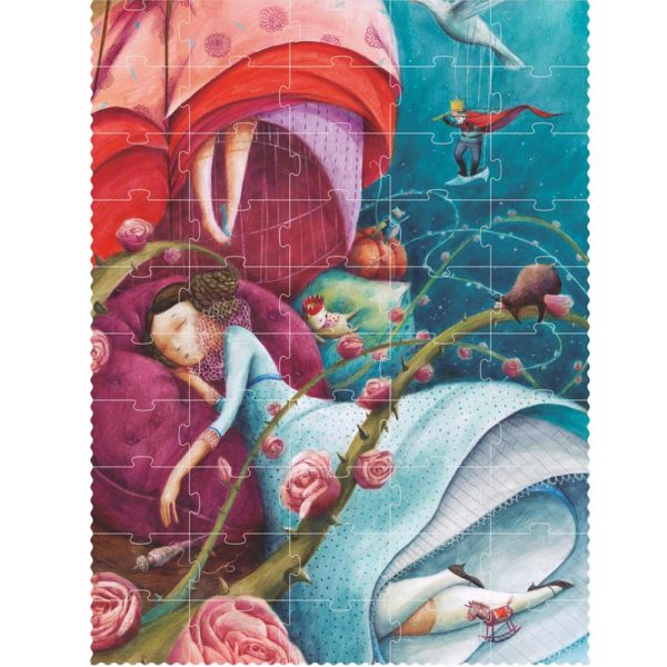 Puzzle Je suis Princesse – 100 Teile 1