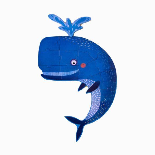 Puzzle-My-Big-Blue-36-Teile-aufgebaut-Wal