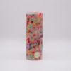 Stumpenkerze aus Würfelwachs – H 20 cm, ø 7 cm