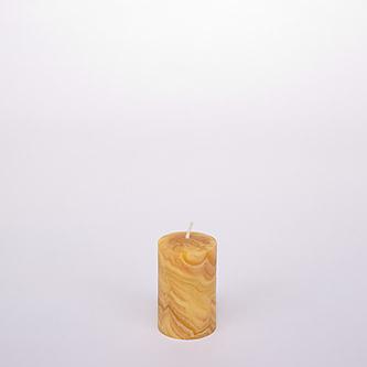 Stumpenkerze-aus-Bienenwachs-H-8-cm-ø-5-cm