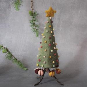 Weihnachtsbaum mit Geschenken aus Filz von der Firma Én Gry & Sif