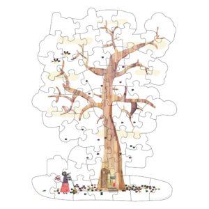 Wendepuzzle My Tree – 50 Teile 4