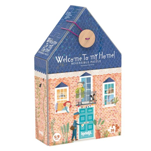Wendepuzzle Welcome to my Home – 36 Teile