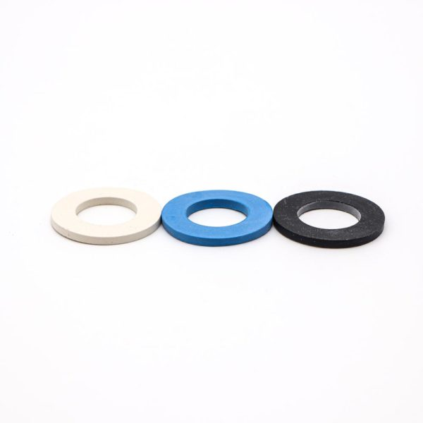 Gummiringe blau weiß schwarz – 3er Set